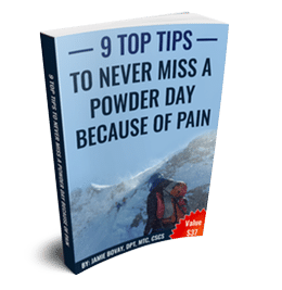Skiing Injuries Pain Relief